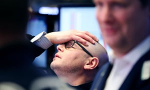 Asian markets fell sharply on Friday after a 3% in the Dow Jones in New York.