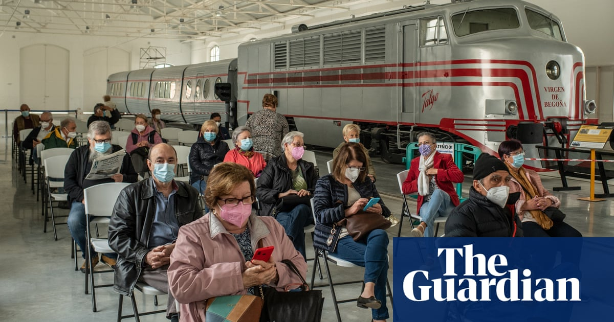 Stadiums, museums and churches: mass vaccination centres around the world – in pictures