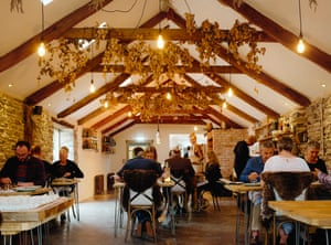 Coombeshead Farm: 'a self-sufficient, gaspingly tasteful, food-forward, wunderkind-chef-led passion project set in 60 acres of rolling, remote British rural splendour.'