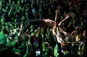 Primal, priapic, peerless … Iggy Pop at London's Royal Albert Hall.