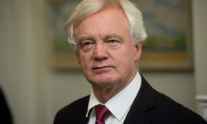 The claimants wish to publish their own unredacted skeleton argument, as well as that of David Davis, the Brexit secretary (pictured).