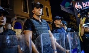 Turkish anti-riot police