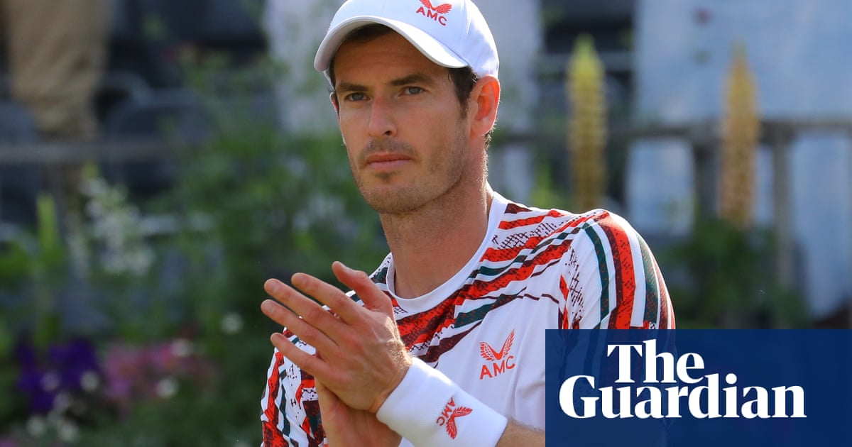 Andy Murray in tears after beating Benoît Paire at Queen's Club