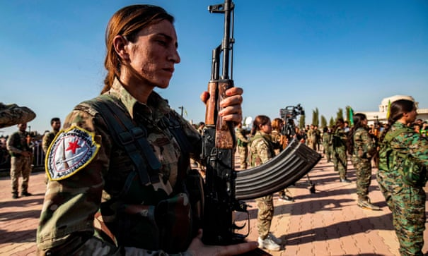 Kurdish female fighters are once again pawns in a bigger political game
