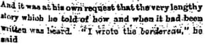 The Observer 25 September 1898 extract: Esterhazy confession.