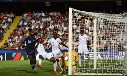 Aaron Wan-Bissaka turns the ball into his own completes England's implosion in their opening European Under-21 Championship game against France.