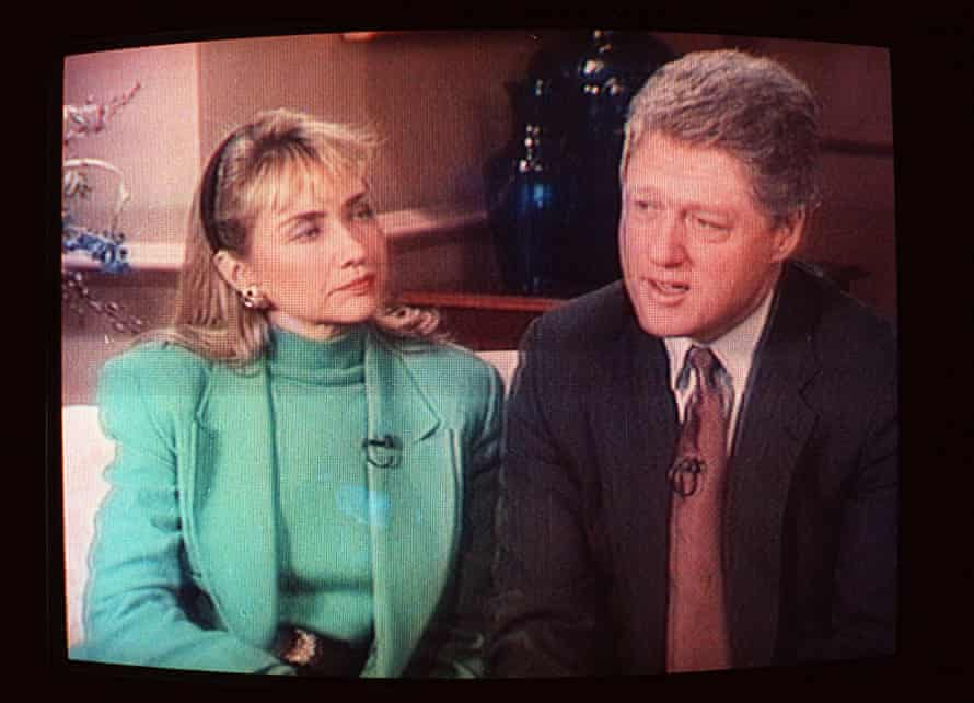 Hillary and Bill Clinton on 60 Minutes.