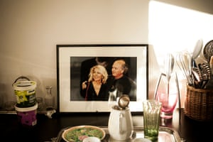 A photograph in Maryse's apartment of her and Georges