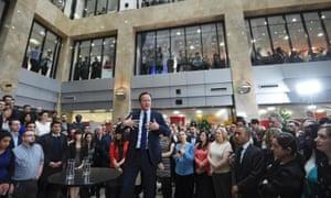 David Cameron at PwC in Birmingham