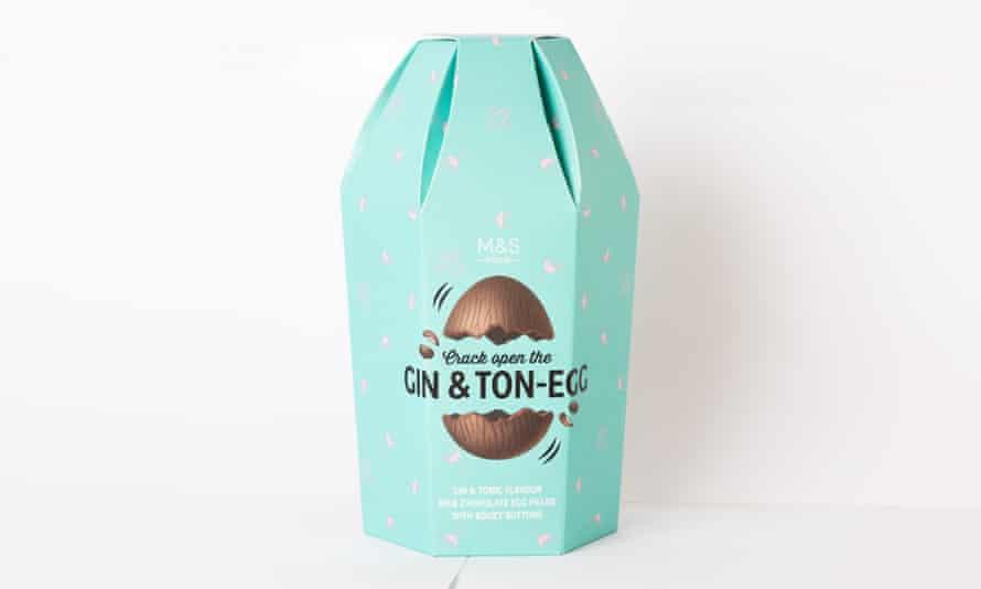 M&S Gin & Ton-egg.