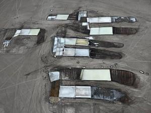 Salt Pans #25, Little Rann of Kutch, India – Edward BurtynskyOne of Burtynsky's celebrated aerial shots showing man's impact on the environment