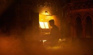 James McVinnie at the organ