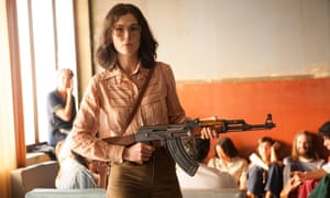 Rosamund Pike in Entebbe.