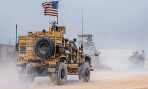 US forces at an undisclosed location in Syria in October. They returned to Syria to protect oil fields, days after President Trump ordered their withdrawal.