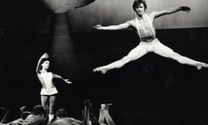 Margot Fonteyn and Rudolf Nureyev in the 1967 production Paradise Lost