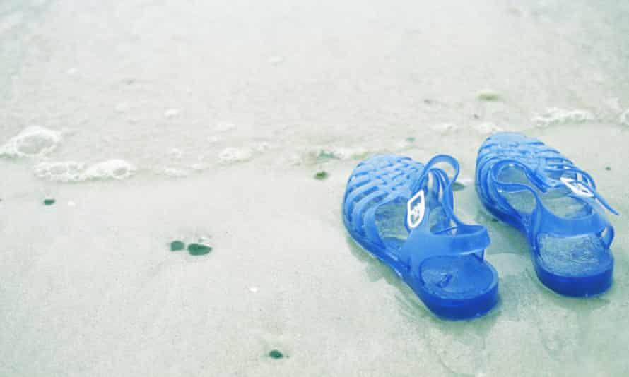 Jelly sandals tie into the ugly shoe phenomenon and fashion's love of all things childlike.