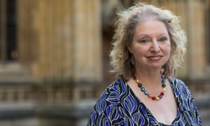 Dame Hilary Mantel, Booker Prize winning author, in 2017