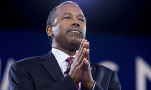 Ben Carson, Donald Trump's housing and urban development secretary. Naved Jafry's title, according to his email signature, was senior adviser.
