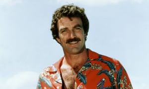 Bat for taches... Tom Selleck as Magnum, PI.