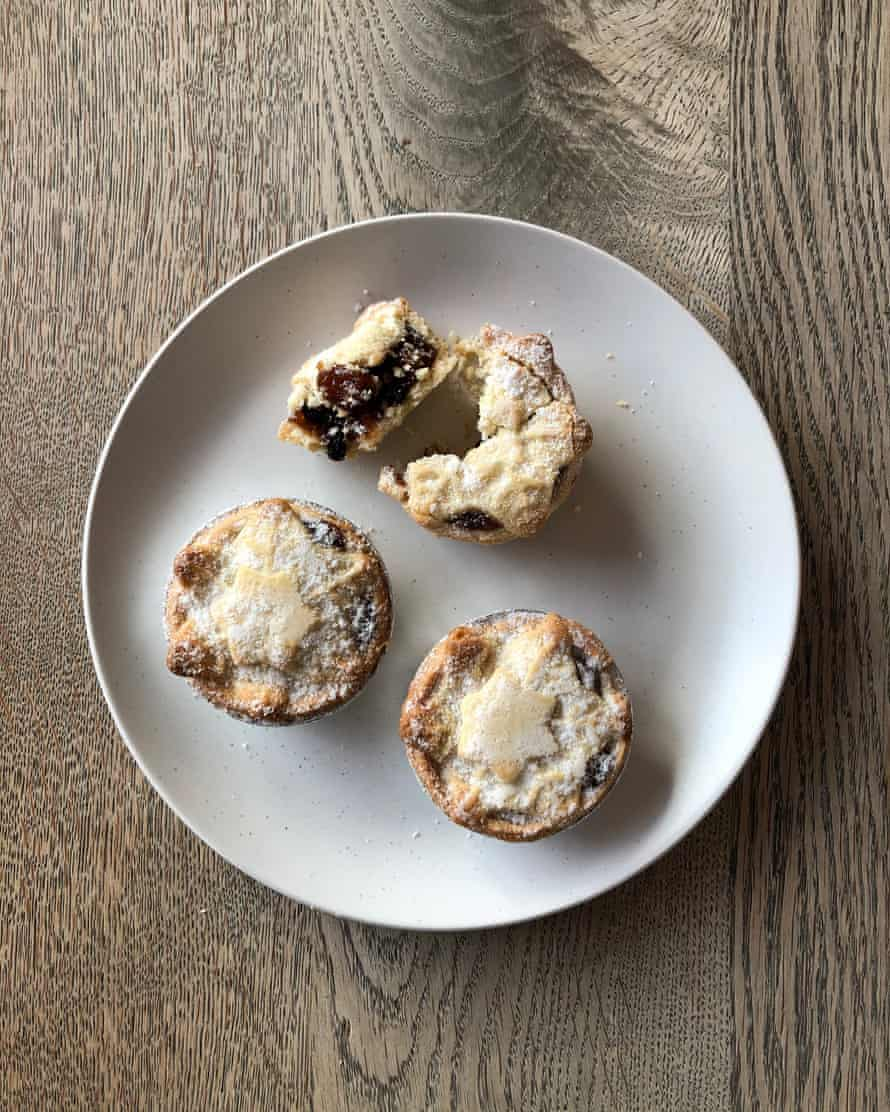M&S Collection mince pies.