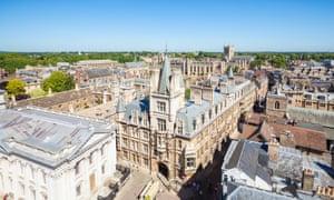 Gonville and Caius college, Cambridge University.