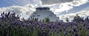 The Great Stupa of Universal Compassion in Bendigo, which awaits the Jade Buddha