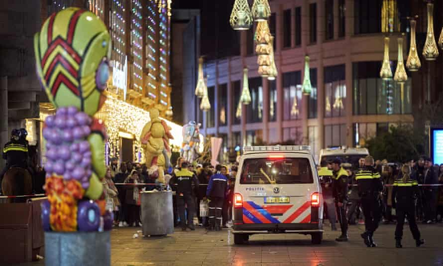 Dutch police at The Hague