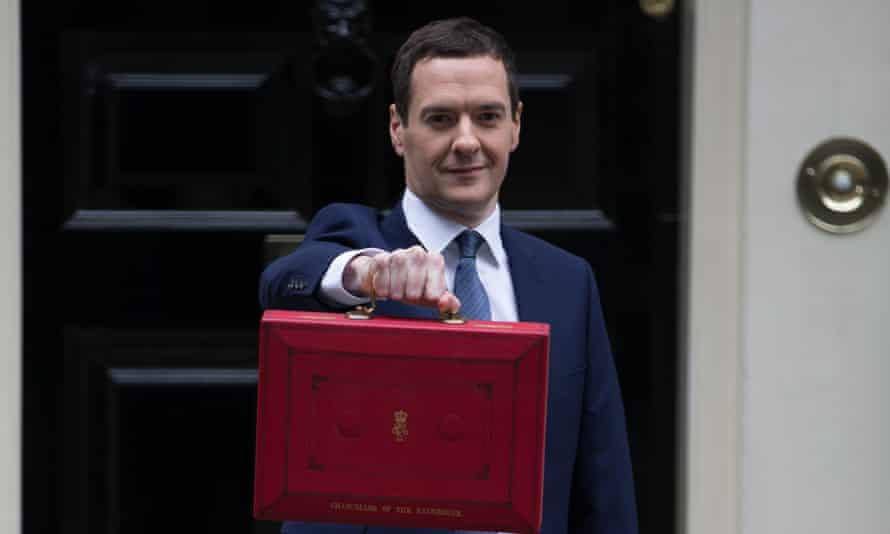 Chancellor of the Exchequer George Osborne delivers the 2015 budget