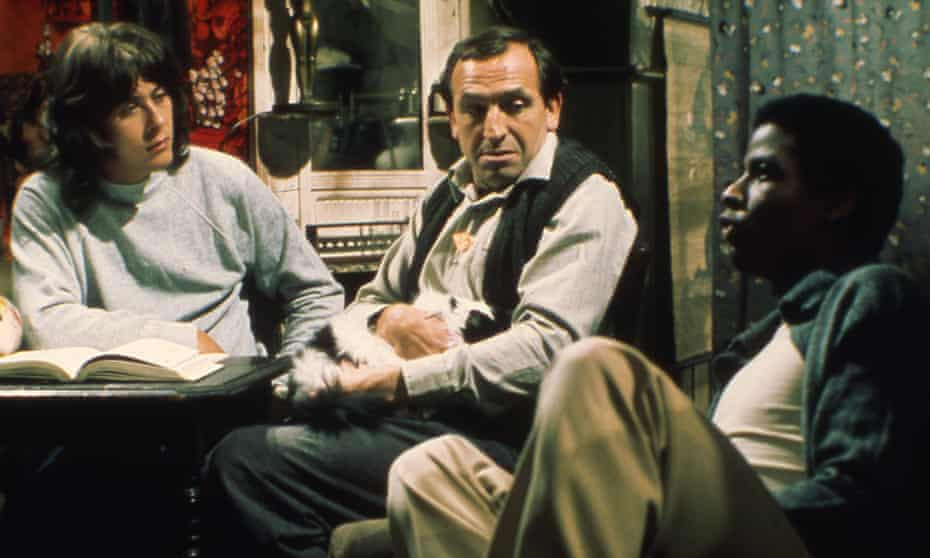 'An intelligent comedy about race relations' … from left, Richard Beckinsale as Alan, Leonard Rossiter as Rigsby, and Don Warrington as Philip.