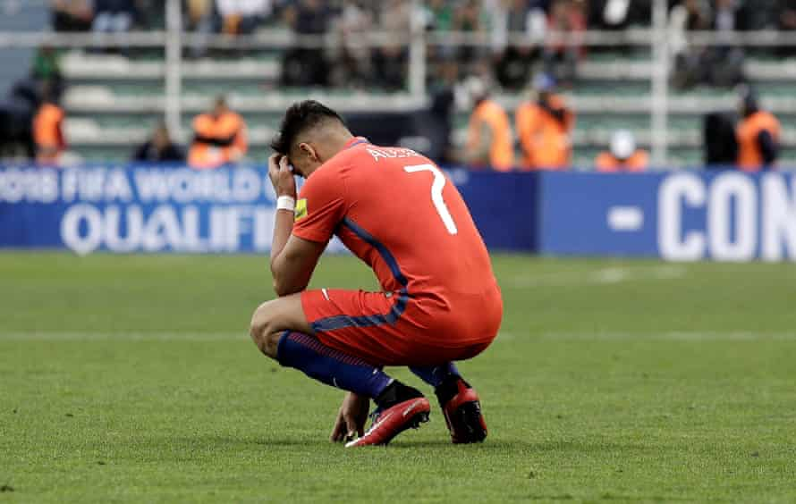 Alexis Sanchez will have next summer off after failing to make it to Russia.