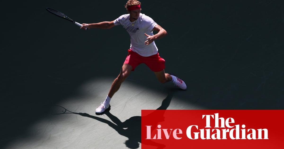 US Open quarter-final: Borna Coric v Alexander Zverev – live!