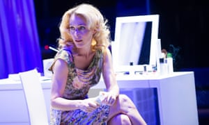 Gillian Anderson as Blanche DuBois) in A Streetcar Named Desire.