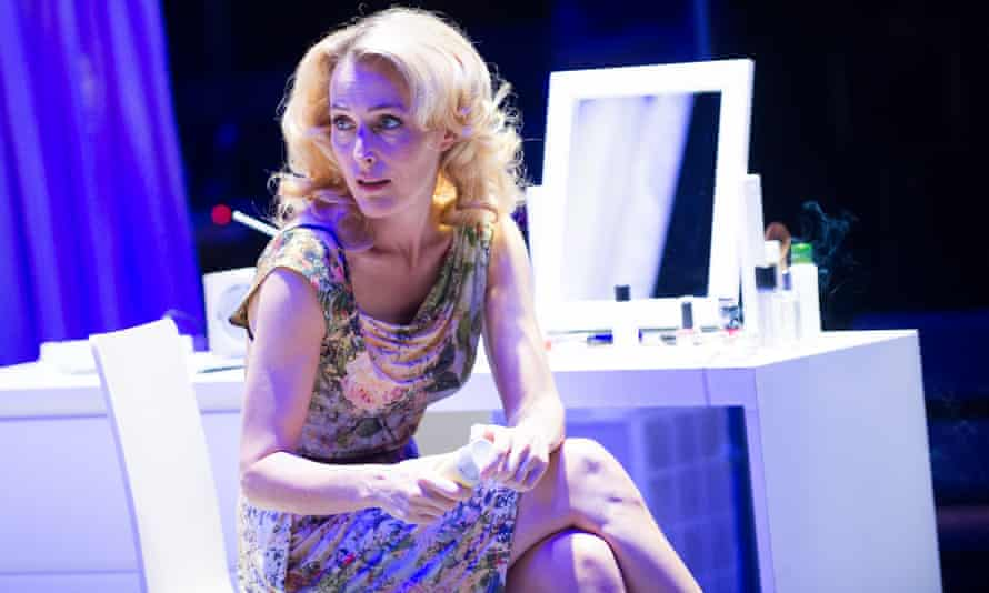 Gillian Anderson  as Blanche DuBois in A Streetcar Named Desire