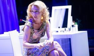 Gillian Anderson as Blanche in A Streetcar Named Desire at the Young Vic in 2014.