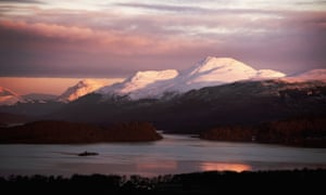 'Make me a new Sinai, and please God / Can we have less of the thou-shalt-not?' … a view of Ben Lomond from Duncryne, Scotland.