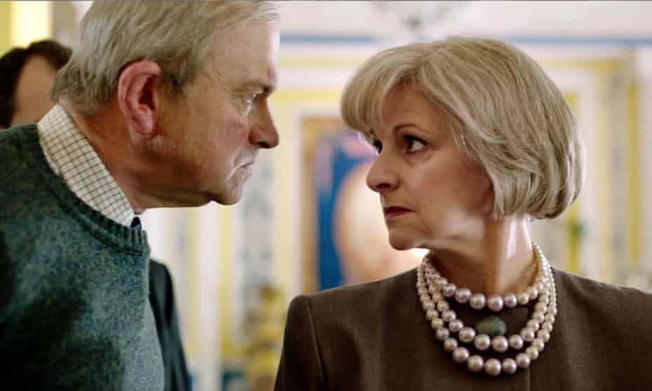 Harry Enfield Gillian Bevan Theresa May The Windsors