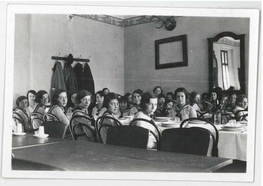 Pupils at Haining's missionary school