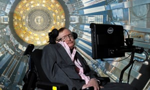 Stephen Hawking at the Science Museum
