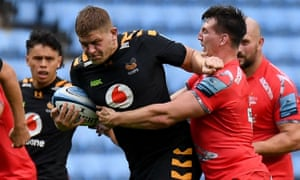 Jack Willis in action for Wasps against Sale
