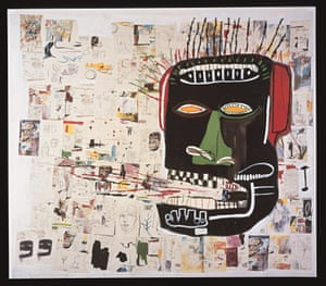 Jean-Michel Basquiat's Portrait of Glenn, 1985.