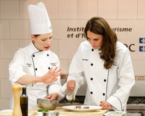 Royals in Canada: Catherine, Duchess of Cambridge takes part in cooking workshop in Montreal