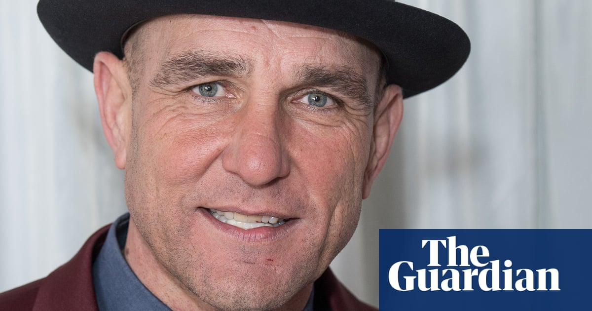 Vinnie Jones: 'My career flew off the rails. The wheels were going. There wasn't a spare seat!'