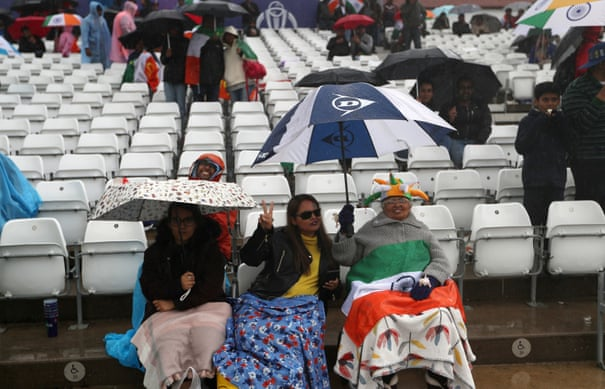 India v New Zealand: Cricket World Cup – as it didn't happen