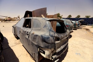 Isis suicide bomb vehicle
