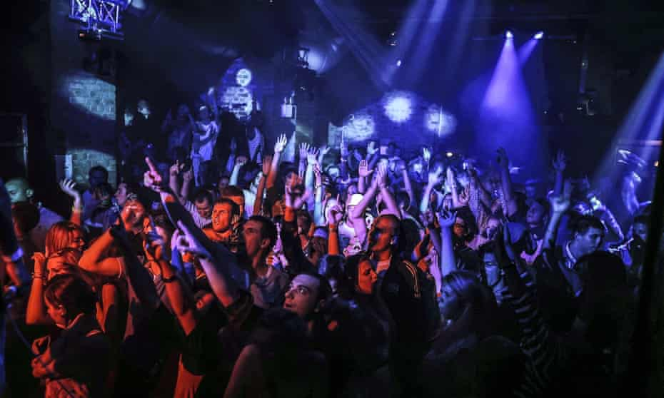Revellers at Fabric nightclub in London before the Covid pandemic struck.
