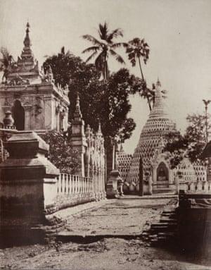 Kyoung, Amerapoora, Burma, 1855