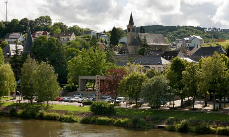 Schengen on the Mosel river in Luxembourg.