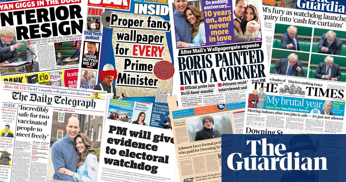 'Interior resign': what the papers say about the cash for curtains row