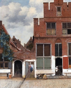 The Little Street (View of Houses in Delft), c. 1658.