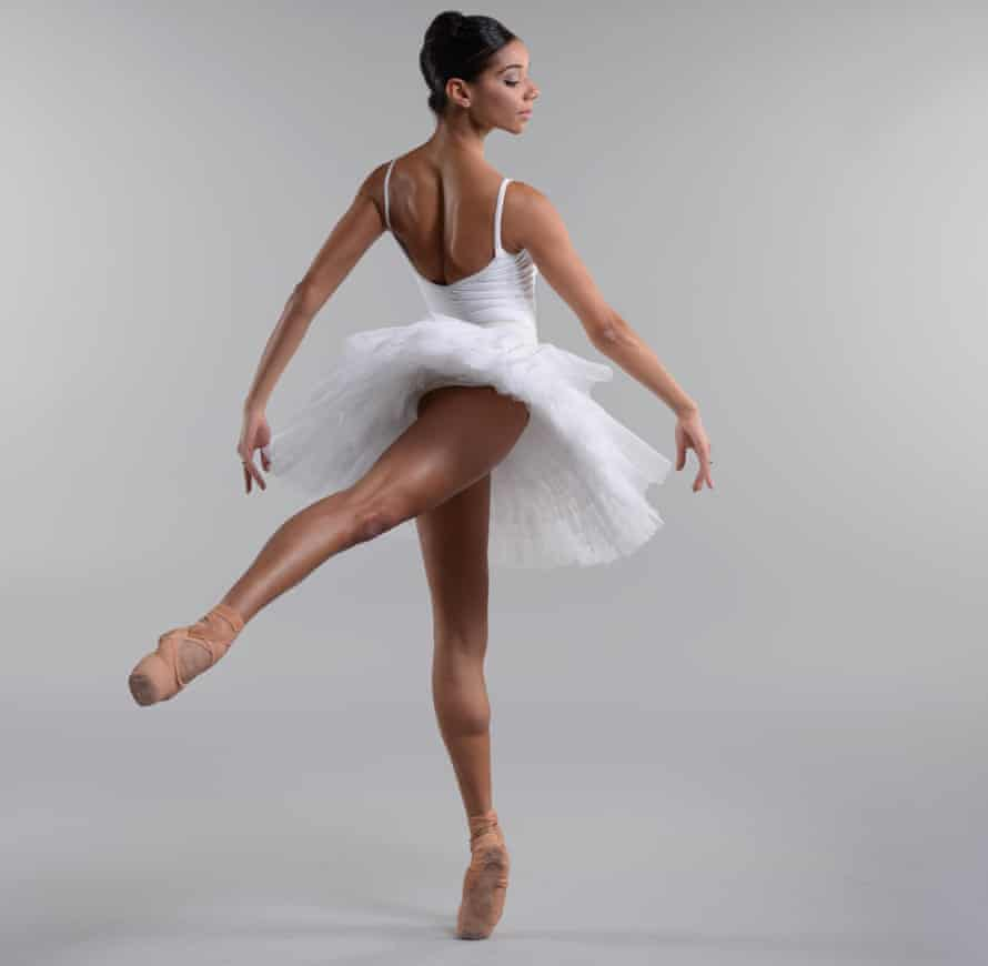 Céline Gittens of the Birmingham Royal Ballet, which is offering a short solo piece online.